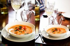 Przepis na pyszną tajską zupę z krewetkami, prostą do przygotowania i wymagającą jedynie 15 minut czasu. Thai Red Curry, Health, Ethnic Recipes, Food, Health Care, Essen, Meals, Yemek, Eten