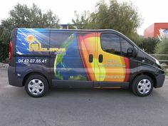 Marquage publicitaire véhicule utilitaire - covering trafic Renault - Signpub (Aix-Marseille 13) Van, Cover, Autos, Visual Communication, Marseille, Automobile, Vans, Vans Outfit