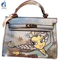 e59574865461 ... Birkin Bags 6c54b 7acf5  save off Sliver snow Cartoon Girl graffiti  ladies totes fcbea 61bb9 ...