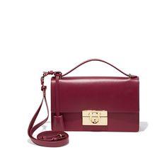 Gancio Lock Shoulder Bag - Handbags - Women - Salvatore Ferragamo