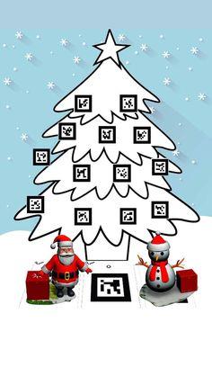ChristmasAR-Realudad-Aumentada-Marcadores