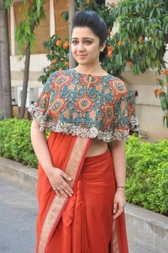 Easy and simple 10 party wear saree draping styles to try. Easy steps and saree hacks to try Sari Blouse Designs, Saree Blouse Patterns, Fancy Blouse Designs, Designer Blouse Patterns, Crop Top Designs, Skirt Patterns, Coat Patterns, Dress Designs, Sewing Patterns