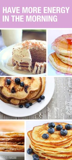 These pancakes will actually give you ENERGY!