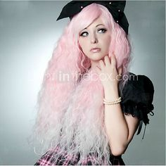 90CM Pink Water Wave Cosplay Fashion Club Night Women's Synthetic Wigs 400G Long Length Anime Costume Wig - EUR €18.92 ! HOT Product! A hot product at an incredible low price is now on sale! Come check it out along with other items like this. Get great discounts, earn Rewards and much more each time you shop with us!