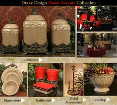 Tuscan Drake Design...I love it and even have a few pieces.