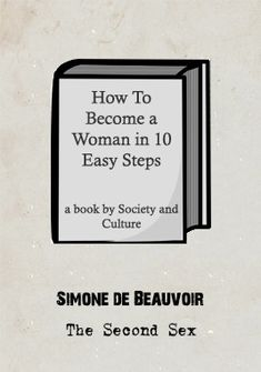 Simone de Beauvoir's magnum opus, 'The Second Sex' is considered to be one of the pioneering works of modern feminism. De Beauvoir was an existentialist who, like Sartre, believed that we are not born in any mould or 'essence' but rather we make. Study Philosophy, Modern Feminism, Thought Experiment, Marx, Life Affirming, Life Happens, Magnum Opus, How To Become, Messages