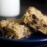 Gooey Chewy Chocolate Coconut Oatmeal BarsLoading... Gooey Chewy Chocolate Coconut Bars These bake-at-home, totally scrumptious dessert bars are made with oats, brown sugar, chocolate chips, coconut and real butter.  An 'anytime' perfect treat!  Twelve deliciously rich servings.  $5.99