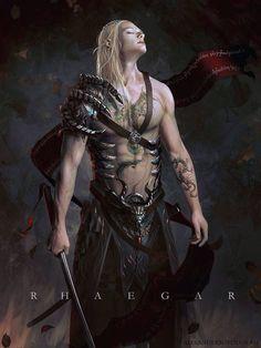 Rhaegar Targaryen by Lensar on Deviantart ~ Game of Thrones Fan Art Chica Fantasy, Fantasy Male, Fantasy Warrior, Fantasy World, Angel Warrior, Fantasy Inspiration, Character Inspiration, Character Art, Character Concept
