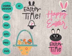 Excited to share the latest addition to my shop: Easter svg . Happy Easter, Easter Bunny, Easter Cross, Easter Wreaths, Easter Decor, Scrapbook Pages, Charms, Stationery, Etsy Shop