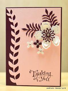 JanB Handmade Cards Atelier: Botanical Birthday Flower Video
