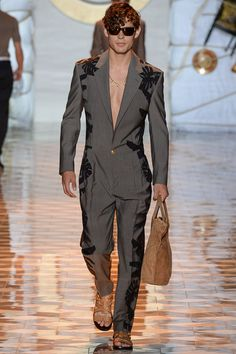 Versace Spring-Summer 2015 Men's Collection