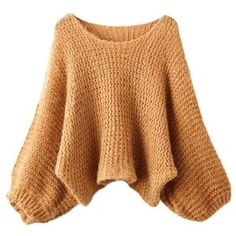 Fall Leaf Knitted Round Neck Jumper