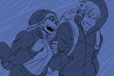 even if it's a storm, I can pass it with you Anime Couples Manga, All Anime, Anime Art, Hero Academia Characters, My Hero Academia Manga, Character Art, Character Design, Bakugou And Uraraka, Wild Love