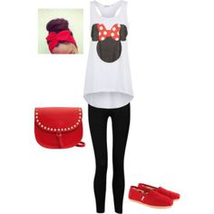 Minnie Mouse tank for Disney trip