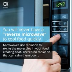 It would've really cut down on electricity costs from the fridge, but oh well. Check out the full article on Curiosity.com and in the Curiosity app! #reversemicrowave #sad #ohwell #physics #curiosity Curiosity, Physics, Sad, Cool Stuff, Check, Instagram, Cool Things, Physique