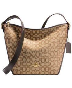 fcbc2378393 COACH Dufflette   Reviews - Handbags   Accessories - Macy s