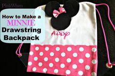 Minnie Drawstring Backpack