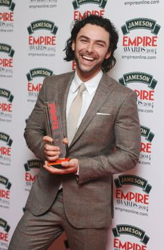 Aidan Turner picked up Best Male Newcomer at the Jameson Empire Awards 2014