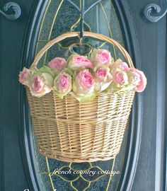 FRENCH COUNTRY COTTAGE: Summer Front Door Refresh