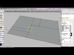 Quick and simple tutorial How to start a Architectural Floorplan in Google Sketchup - YouTube