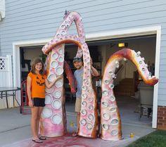Making a Kraken, Sea Monster, Giant Octopus for your Pirate Themed Halloween-halloween-kraken-sea-monster-28-1.jpg