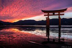 "Itsukushima ""floating"" torii gate by Hidenobu Suzuki on 500px"