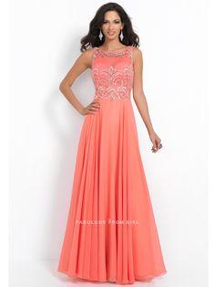 A-line+Beading++Chiffon+Prom+Dresses+/+Evening+Dresses+