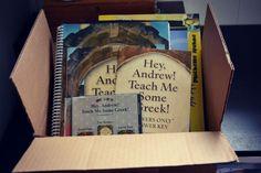 homeschool greek curriculum