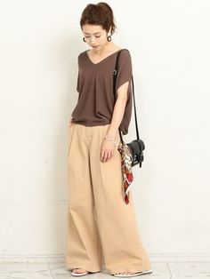 BEAUTY&YOUTH オフィススタッフ 02さんのコーディネート Harem Pants, Normcore, Womens Fashion, Casual, Skirts, How To Wear, Style, Swag, Skirt