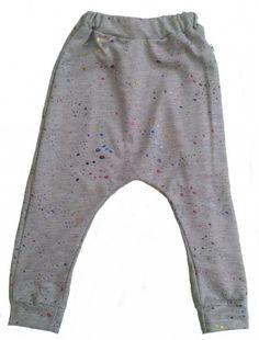 Baggy bukser med glimmer