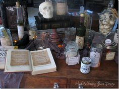 Halloween Potions Station (drinks)