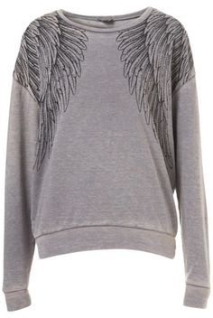 Wings Burnout Sweat I WANT THIS SOOOOOOO BADDDDD!!!!!!!!!❤❤❤❤❤❤❤
