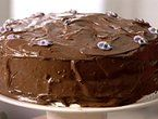 Double Fudge Cake with Chocolate Buttercream Frosting...Ina Garten
