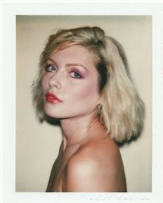 Debbie Harry by Andy Warhol. http://www.dazeddigital.com/music/article/14076/1/get-your-rocks-off-with-primal-scream
