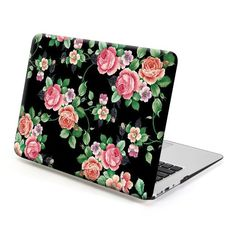 Amazon.com: MacBook Air 13 Case, GMYLE Hard Case Print Frosted for MacBook Air 13 inch - Blossom Floral Pattern Rubber Coated Hard Shell Case Cover: Computers & Accessories