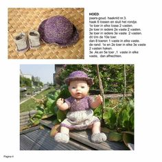 Kruidvat - BABY BORN BREI / HAAKPATR Beren, Baby Born, Knitted Dolls, Crochet Hats, Facebook, Knitting, Breien, Knitting Hats, Tricot