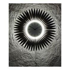 Nástenné hodiny Atlanta 4450 LED, 53cm | nástenné hodiny Atlanta, Led, Dandelion, Design, Dandelions, Taraxacum Officinale