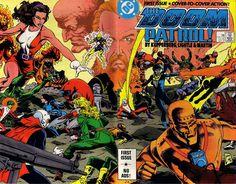 The Many Bizarre Lives of DC Comics' Doom Patrol,'The World's Strangest…