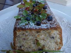 Blueberry muesli cake - Mustikkamyslikakku Kotikokki.netin nimimerkki Naijan ohjeella