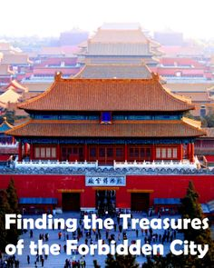Finding the treasures of the Forbidden City. #Beijing #China #travel foo pointers for upcoming trip