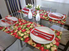 Realizando um Sonho | Blog de casamento e vida a dois: Mesa posta: vermelho, cinza e branco!