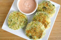 The Garden Grazer: Broccoli Potato Patties