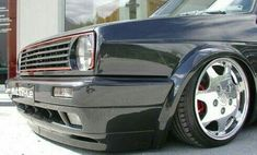 This specific car is my most desired ride. So neat Volkswagen Golf Mk2, Scirocco Volkswagen, Vw Mk1, Jetta A2, Mercedes Benz Sls, High Performance Cars, Vw Cars, Car Tuning, Car Wheels