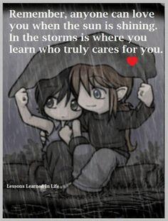 hard times reveal true friends <3