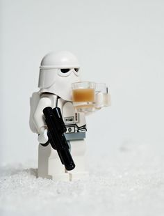 Storm Troopers like coffee too.....