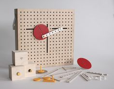 The LINKKI Toy Construction Set Teaches Kids (and Designers) the Basics of Kinetic Design by EunYoungPark.co