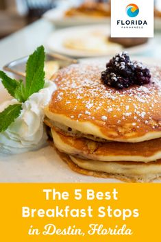 Looking for the perfect breakfast spots to try during your Destin vacation? We can't blame you. We've narrowed it down to our top 5 breakfast restaurants in Destin, with something for just about every taste on the list. Breakfast Options, Perfect Breakfast, Breakfast Restaurants, Destin Florida, Blame, Vacation, Top, Vacations, Restaurants For Breakfast