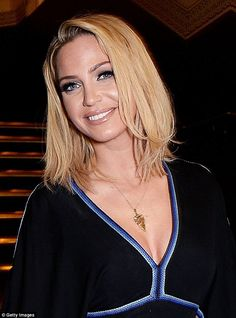 Former Girls Aloud star Sarah Harding, pictured at the Royal Albert Hall in January, has b...
