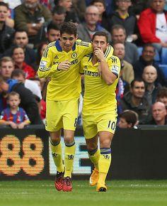 Oscar & Hazard | Chelsea FC #soccer #football #CFC