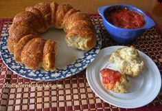 CHEESY ITALIAN PULL-APART BREAD   The Southern Lady Cooks